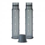 EHIEM 4009620 Lot de 2 Extensions pour Kit d'installation 2 en 12/16mm et 16/22mm