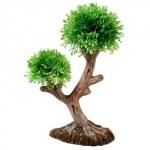 HOBBY Aqua Tree 2, plante artificielle sur support céramique pour la décoration de votre aquarium