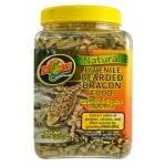 ZOOMED Natural Bearded Dragon juvénile 567 grs nourriture naturelle pour jeune Dragon Barbu avec vitamines et minéraux ajoutés