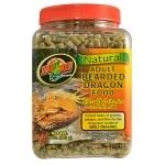 ZOOMED Natural Bearded Dragon adulte 567 grs nourriture naturelle pour Dragon Barbu adulte avec vitamines et minéraux ajoutés