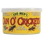 ZOOMED Can O' Cricket 35 grs grillons de taille adulte pour lézards, tortues, poissons, oiseaux et petits animaux.