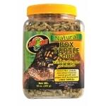 """ZOOMED Natural Box Turtle 567g nourriture naturelle pour tortue de terre """"boîte"""" avec vitamines et minéraux ajoutés"""