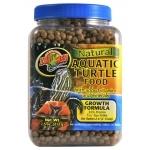 ZOOMED Natural Aquatic Turtle 369g nourriture animale complète pour jeunes tortues d'eau de 5 à 15cm
