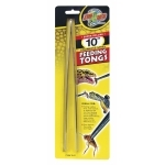 ZOOMED Feeding Tongs pince 25cm en acier inoxydable pour le nourrissage manuel des réptiles et autres animaux