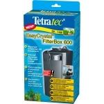 TETRA EasyCrystal FilterBox 600 filtre interne avec compartiment de chauffage pour aquarium de 50 à 150L
