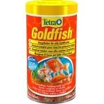 TETRA GoldFish 500 ml aliment complet en flocons de grande qualité pour tous les poissons rouges et d'eau froide
