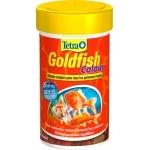 TETRA GoldFish Colour 100 ml aliment complet en flocons pour renforcer l'éclat des couleurs des poissons rouges et autres poissons d'eau froide