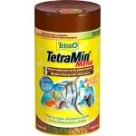 TETRA TetraMin Menu 100 ml 4 flocons complémentaires dans 4 compartiments séparés pour davantage de plaisir pendant l'alimentation