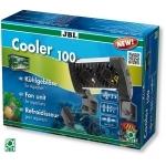 Ventilateur d'aquarium JBL Cooler 100 abaisse la température de l'eau jusqu'à 4°C grace à ses 2 ventilateurs