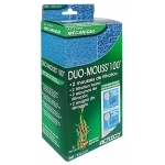 Mousses ACTIZOO Duo Mouss'100 lot de 2 blocs de mousse 10 x 10 x 6,5 cm maille fine et maille large