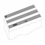 JUWEL Kit de volets de remplacement pour Aquarium Juwel Rio 300. Livré en 3 pièces