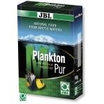 JBL Plankton Pur M 8 x 2g plancton frais et pur pour poissons d'eau douce et d'eau de mer de 4 à 14 cm. Portions pour aquarium jusqu'à 200L