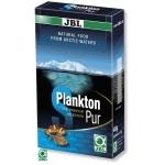 JBL Plankton Pur S 8 x 5g plancton frais et pur pour poissons d'eau douce et d'eau de mer de 2 à 6 cm. Portions pour aquarium de plus de 200L