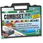 JBL CombiSet Plus NH4+/NH3 mallette de tests complète pour analyse du pH, NH4+/NH3, KH, NO2, NO3 et CO2