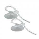 Lot de 2 ventouses HOBBY avec attaches réglables pour objets de 6 à 30 mm de diamètre