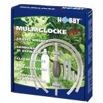 HOBBY Cloche à vase Pro avec débit d'eau réglable et mécanisme d'aspiration pour l'entrient de l'aquarium