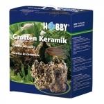 HOBBY Grotten Céramique 5,5 kg roche reconstitué idéale pour les aquariums marins et d'eau douce