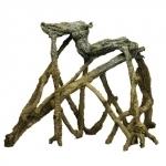 HOBBY Mangrove Mini 25 x 22 x 15 cm racine artificelle pour la décoration de votre aquarium d'eau douce