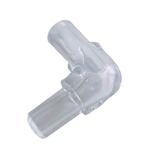 Lot de 2 coudes HOBBY pour tuyau d'air ou d'eau 4/6 mm