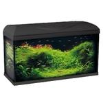 Aquarium équipé WAVE Riviera 80 LED Noir 95L dimensions 80 x 32 x 45 cm avec ou sans meuble