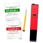 pH-Mètre électronique haute précision pour la mesure du pH en aquarium d'eau douce, eau de mer et bassin