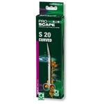 JBL ProScape Tool S 20 ciseaux courbés 20 cm en acier Nippon Steel pour l'entretien des plantes d'aquarium