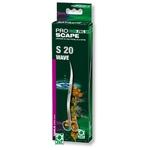 JBL ProScape Tool S 20 ciseaux vagues 20 cm en acier Nippon Steel pour l'entretien des plantes d'aquarium