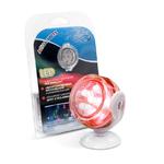 CLASSICA Aqua-Brite Spot USB submersible décoratif à 6 Leds Rouges pour aquarium