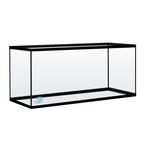 Aquarium nu 120 litres avec cornières 100 x 30 x 40 cm. Cuve nue livrée sans équipement