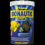 TROPICAL BioNautic Chips 1000ml nourriture granulée multi-ingrédients pour poissons d'eau de mer, crustacés et invertébrés