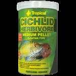 TROPICAL Cichlid Herbivore Small Pellet 250ml nourriture végétale avec Spirulina pour cichlidés jeunes et de petite taille