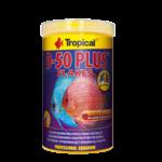 TROPICAL D-50 Plus 250ml une nourriture en flocons pour discus, riche en protéines, rehaussant la couleur, avec beta-glucan et astaxanthine