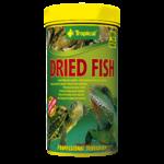 TROPICAL Dried Fish 250ml petits poissons séchés pour tortues aquatiques et lézards
