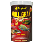 TROPICAL Krill Gran 100ml nourriture en granulées pour poissons d'eau douce et d'eau de mer, rehaussant la couleur, avec krill