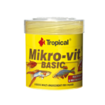 TROPICAL Mikrovit Basic 50ml nourriture de base pour alevins