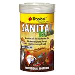 TROPICAL Sanital + Ketapang 100 ml sel de conditionnement d'eau et de traitement pour poissons d'eau noire