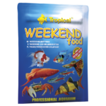 TROPICAL WeekEnd Food 24 tablettes descendantes 10 jours de nourrissage pour poissons d'ornement