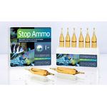 PRODIBIO Stop Ammo 6 ampoules élimine l'ammoniaque dans l'eau de mer. Traite jusqu'à 1200 L
