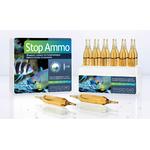 PRODIBIO Stop Ammo 12 ampoules élimine l'ammoniaque dans l'eau de mer. Traite jusqu'à 2400 L