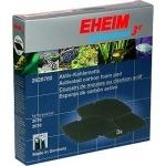 EHEIM Set de 3 mousses au charbon actif pour filtre professionel 3e 2076, 2078 et 2178