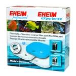 EHEIM 1 coussin de mousse bleu + 1 coussin d'ouate pour filtre Eheim 2124, 2222, 2224, 2322, 2324, 2422, 2424