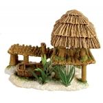 Décoration pour aquarium Ponton Bamboo Nano