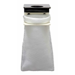 GROTECH Kit support + 2 Filterbag 500 microns de 12 cm de diamètre pour la préfiltration de votre eau d'aquarium