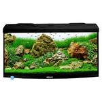 AQUAVIE StartUp 80B Noir aquarium 112 L avec vitre avant bombé, tout équipé, 80 x 35 x 40 cm. Finition Haute gamme !