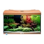 AQUAVIE StartUp 60 Hêtre aquarium de 54L tout équipé, 60 x 30 x 30 cm. Finition Haute gamme !