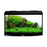 AQUAVIE StartUp 60B Noir aquarium 54L avec vitre avant bombé, tout équipé, 60 x 30 x 30 cm. Finition Haute gamme !
