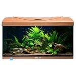 AQUAVIE StartUp 80 Hêtre aquarium de 112L tout équipé, 80 x 35 x 40 cm. Finition Haute gamme !