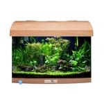 AQUAVIE StartUp 40 Hêtre aquarium de 25L tout équipé, 40 x 25 x 25 cm. Finition Haute gamme !