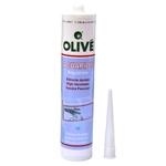 OLIVÉ Silicone noir 310 ml pour l'assemblage de vos aquariums