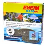 EHEIM 3 coussins de mousse au charbon actif pour filtre Ecco pro 2032, 2034, 2036